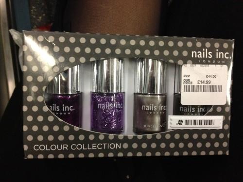 TK Maxx - nails inc.